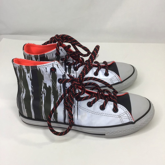 Converse Other - New Converse All Star Chuck Taylor High Top Silver
